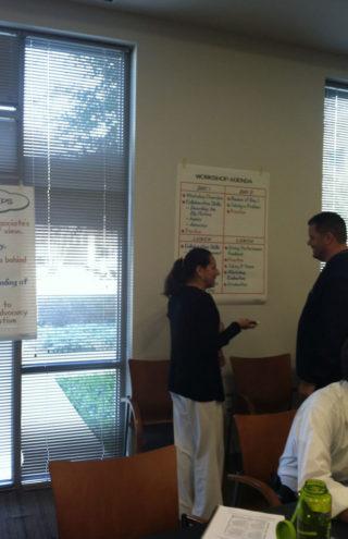 Yolanda Haro teaching