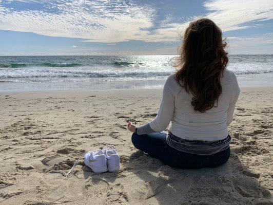 Mindfulness Meditation at the beach