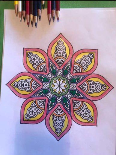 Mandala Art Picture
